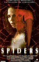 Spiders - Spanish Movie Poster (xs thumbnail)