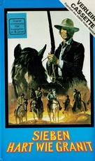 I sette del gruppo selvaggio - German VHS movie cover (xs thumbnail)