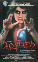 Deadly Friend - Swedish VHS cover (xs thumbnail)