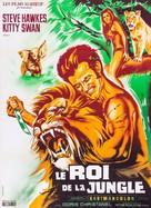 Tarzán en la gruta del oro - French Movie Poster (xs thumbnail)