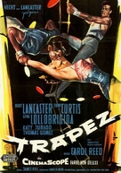 Trapeze - German Movie Poster (xs thumbnail)