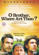 O Brother, Where Art Thou? - British DVD cover (xs thumbnail)