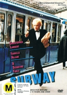Subway - New Zealand DVD movie cover (xs thumbnail)