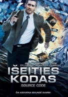 Source Code - Lithuanian DVD movie cover (xs thumbnail)