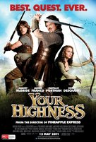 Your Highness - Australian Movie Poster (xs thumbnail)