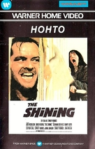 The Shining - Finnish VHS movie cover (xs thumbnail)