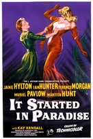 It Started in Paradise - British Movie Poster (xs thumbnail)