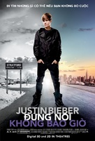 Justin Bieber: Never Say Never - Vietnamese Movie Poster (xs thumbnail)