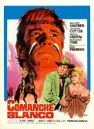Comanche blanco - Mexican Movie Poster (xs thumbnail)