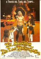 Beastmaster 2: Through the Portal of Time - Spanish Movie Poster (xs thumbnail)