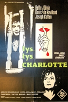 Hush... Hush, Sweet Charlotte - Danish Movie Poster (xs thumbnail)