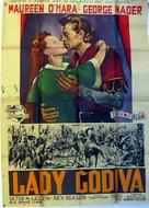 Lady Godiva of Coventry - Italian Movie Poster (xs thumbnail)