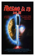 Friday the 13th Part VII: The New Blood - Danish VHS movie cover (xs thumbnail)