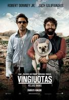 Due Date - Lithuanian Movie Poster (xs thumbnail)