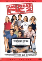 American Pie 2 - Brazilian DVD cover (xs thumbnail)