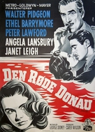 The Red Danube - Danish Movie Poster (xs thumbnail)