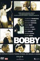 Bobby - Finnish DVD movie cover (xs thumbnail)
