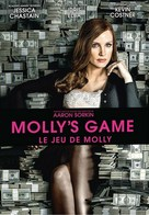 Molly's Game - French Movie Cover (xs thumbnail)