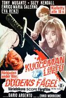 L'uccello dalle piume di cristallo - Finnish Movie Poster (xs thumbnail)