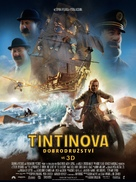 The Adventures of Tintin: The Secret of the Unicorn - Czech Movie Poster (xs thumbnail)