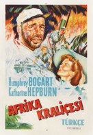 The African Queen - Turkish Movie Poster (xs thumbnail)