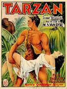 Tarzan the Ape Man - Belgian Movie Poster (xs thumbnail)