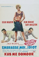 Kiss Me, Stupid - Belgian Movie Poster (xs thumbnail)