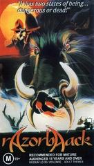 Razorback - Australian VHS cover (xs thumbnail)