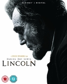 Lincoln - British Blu-Ray movie cover (xs thumbnail)