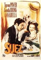 Suez - Italian Movie Poster (xs thumbnail)