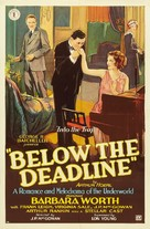 Below the Deadline - Movie Poster (xs thumbnail)