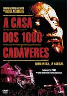 House of 1000 Corpses - Portuguese DVD movie cover (xs thumbnail)