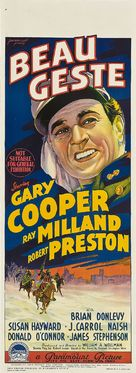 Beau Geste - Australian Movie Poster (xs thumbnail)