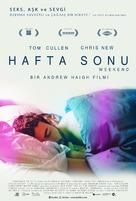 Weekend - Turkish Movie Poster (xs thumbnail)