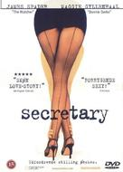 Secretary - Danish DVD cover (xs thumbnail)