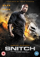 Snitch - British DVD movie cover (xs thumbnail)