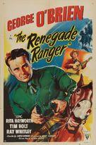 The Renegade Ranger - Movie Poster (xs thumbnail)