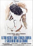 Il tuo vizio è una stanza chiusa e solo io ne ho la chiave - Italian Movie Poster (xs thumbnail)