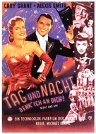 Night and Day - German Movie Poster (xs thumbnail)