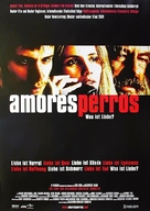 Amores Perros - German Movie Poster (xs thumbnail)