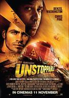 Unstoppable - Malaysian Movie Poster (xs thumbnail)