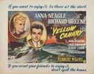 Yellow Canary - British Movie Poster (xs thumbnail)