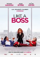 Like a Boss - Romanian Movie Poster (xs thumbnail)