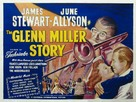 The Glenn Miller Story - British Movie Poster (xs thumbnail)