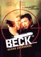 """Beck"" Okänd avsändare - Swedish poster (xs thumbnail)"