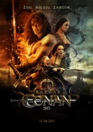 Conan the Barbarian - Czech Movie Poster (xs thumbnail)