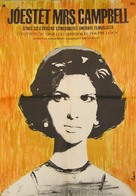 Buona Sera, Mrs. Campbell - Hungarian Movie Poster (xs thumbnail)