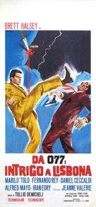 Misión Lisboa - Italian Movie Poster (xs thumbnail)