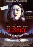 Misery - German Theatrical poster (xs thumbnail)