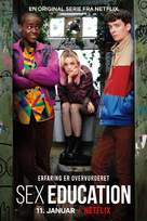 """Sex Education"" - Danish Movie Poster (xs thumbnail)"